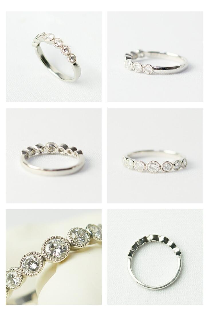 指輪/リングダイヤモンド/プラチナ/PT900ジュエリー/アクセサリー/7粒ダイヤ 指輪 PT900(プラチナ) ダイヤモンド 0.5ct リング
