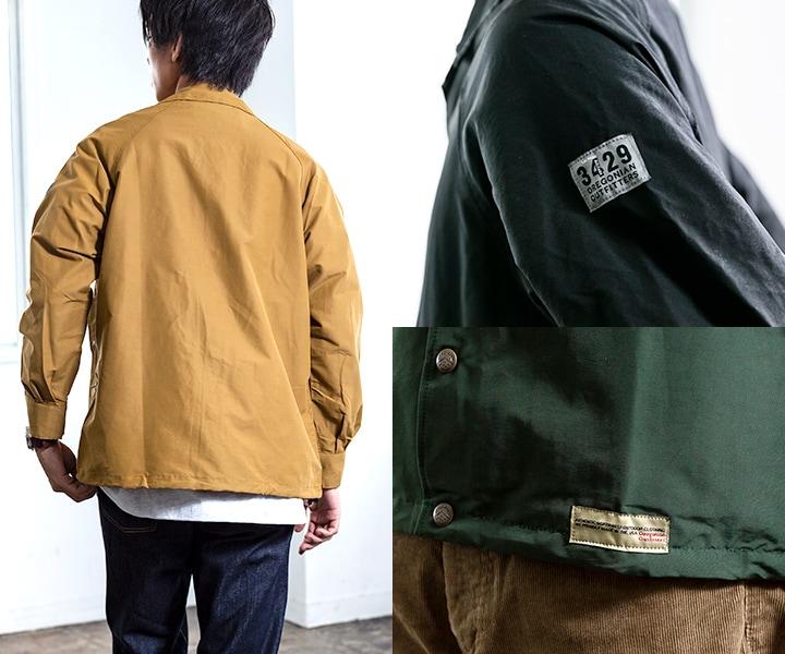33bb72fa6dc5 Oregonian Outfitters(オレゴニアンアウトフィッターズ)のベーシックデザインのジャケットです。  綿60%、ナイロン40%の混紡生地(ロクヨンクロス)は、突然の雨も ...