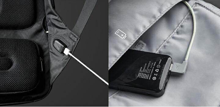 充電用USBポート搭載