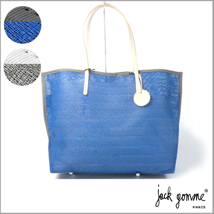 【JACK GOMME/jack gomme】メッシュ トートバッグ