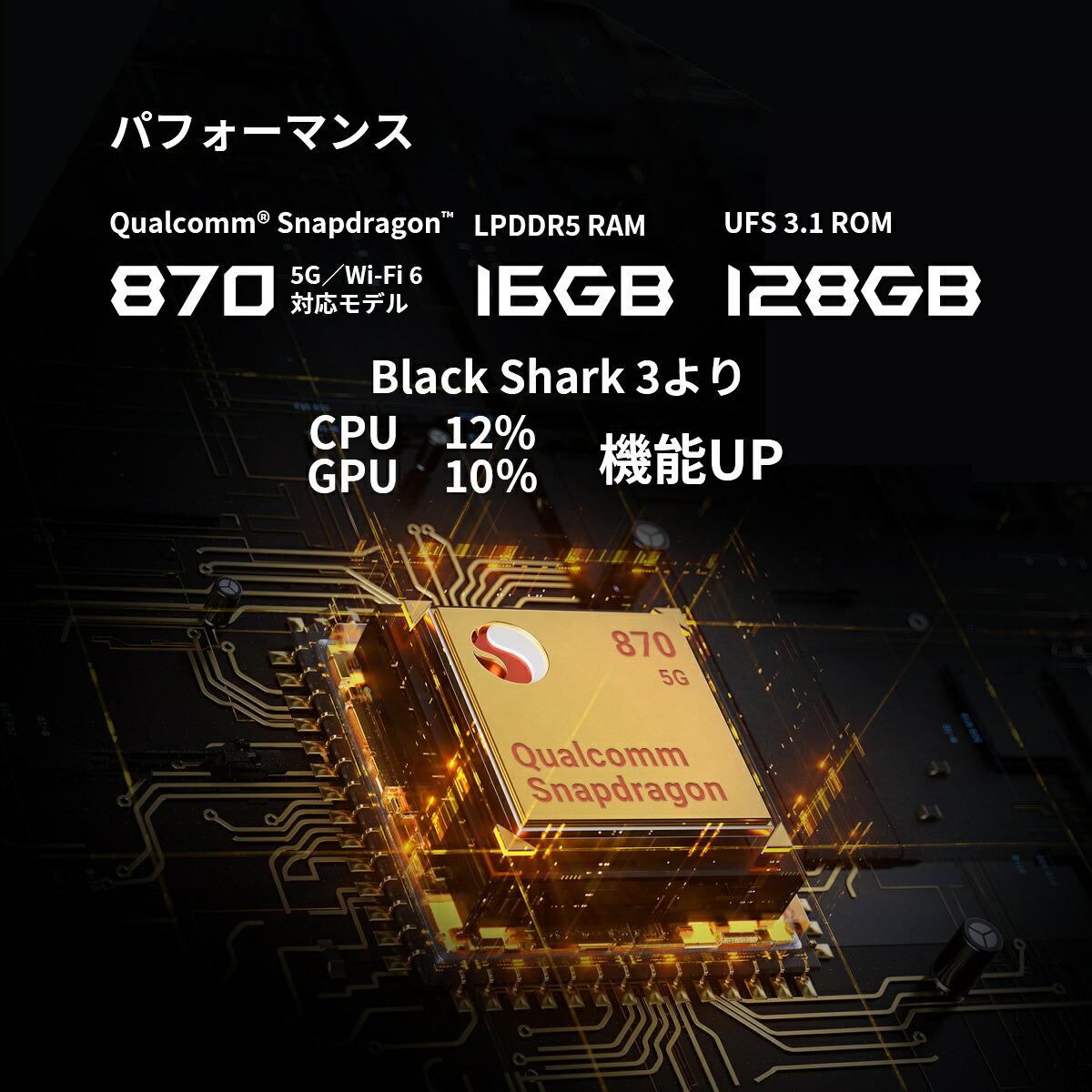 blackshark4ハイスペックモバイルスマートフォンe-スポーツを勝ち抜く