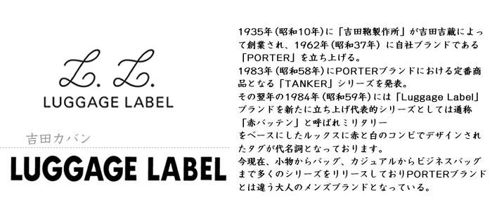 ラゲッジレーベル【LUGGAGE LABEL】