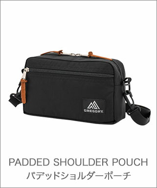 PADDED SHOULDER POUCH
