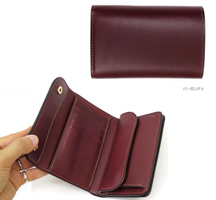 スワンズ バーン ワイルド ワイルドスワンズのブランド財布のチョコ 型押しレザー