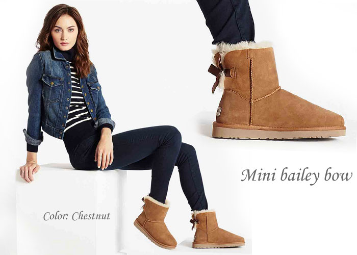 how to wear mini bailey button uggs