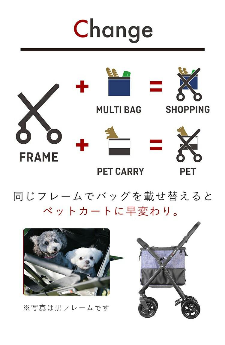 軽量・コンパクトで折り畳めるマルチショッピングカート「ゴーウォーカー」の商品ページ5