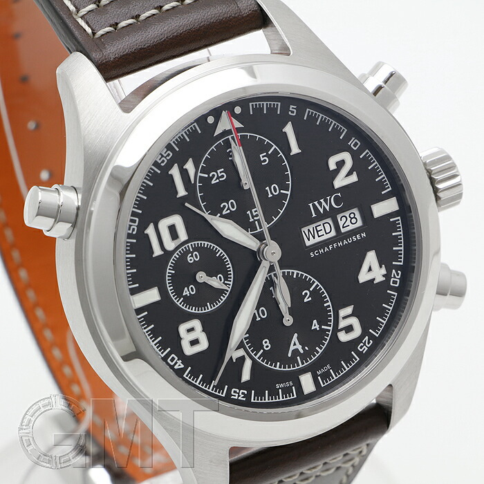 outlet store fc5af 3b7ce IWC パイロット・ウォッチ・ダブルクロノグラフ アントワーヌ ...