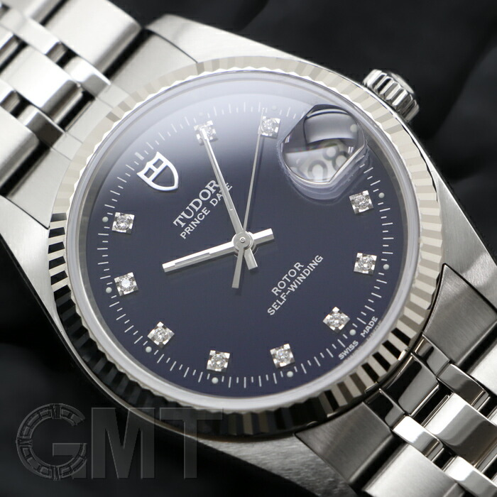 competitive price bf38c 36a93 チュードル プリンスデイト 74034 [10Pダイヤ 5連SSブレス ...
