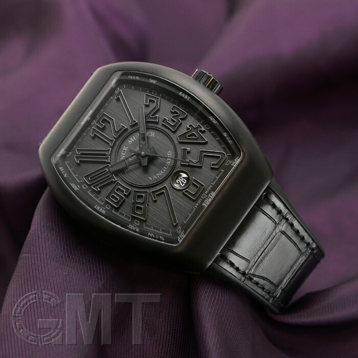 huge selection of 66391 0e0ba フランクミュラー ヴァンガード オールブラック V45SCDT TT NR ...