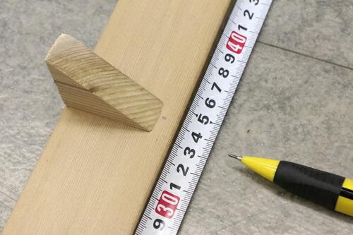 添え木設置2