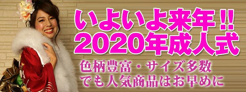 【貸衣裳】 2020年成人式用振袖 【貸衣装】
