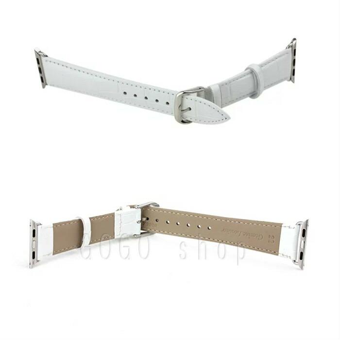【送料無料】高級本革AppleWatchベルトBand【本革】時計ベルト交換ベルト38mm42mm6色ギフトプレゼント