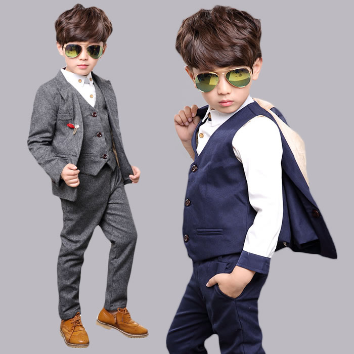 Boys Casual Suits Dress Yy