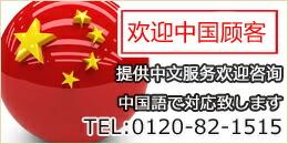 中国語対応OK