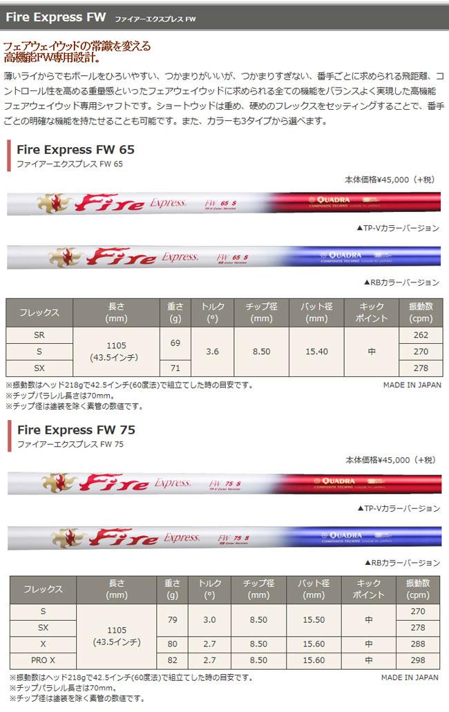 ミステリー MYSTERY メンズゴルフクラブ C-HT511 FW FIRE EXPRESS FWシリーズシャフト