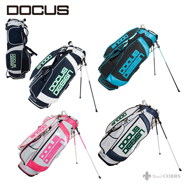 ドゥーカス DOCUS メンズゴルフ スタンドバッグ 8.5型 DCC731