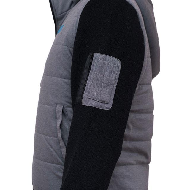ドゥーカス DOCUS メンズゴルフウェア フーデッドボリュームジャケット  DCM18A009