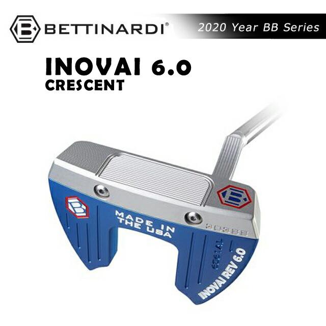 ベティナルディ BETTINARDI メンズ ゴルフ パターINOVAI SERIES putter INOVAI6.0 CRESCENT