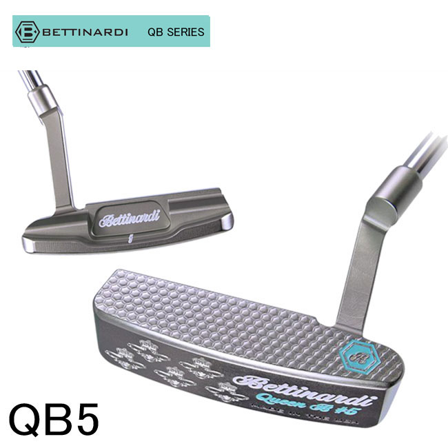 ベティナルディ BETTINARDI メンズ ゴルフ パター QB SERIES QB5 putter QUEEN B