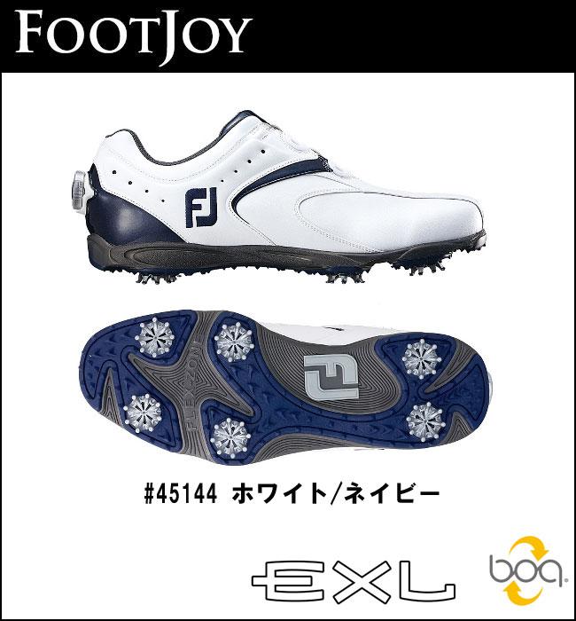 【2016年モデル】FOOTJOY【フットジョイ】EXL Boa シューズ 45144 ホワイトネイビー