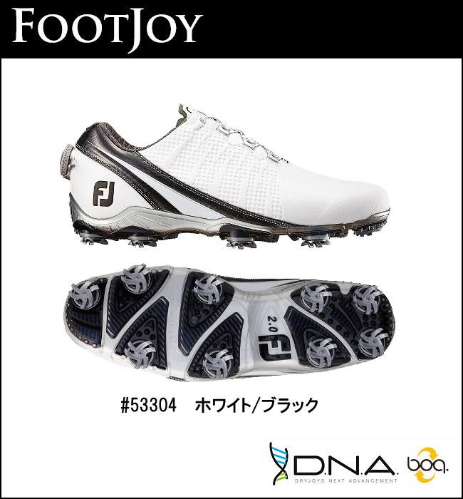 FOOTJOY【フットジョイ】DNA Boa シューズ 53304 ホワイトブラック【0305_0306 10倍】