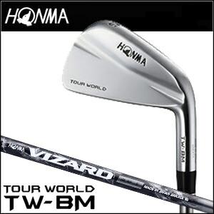 【2015年モデル】HONMA GOLF【本間ゴルフ】 TOUR WORLD IRON TW-BM アイアン単品【#4】 VIZARD IB95シャフト