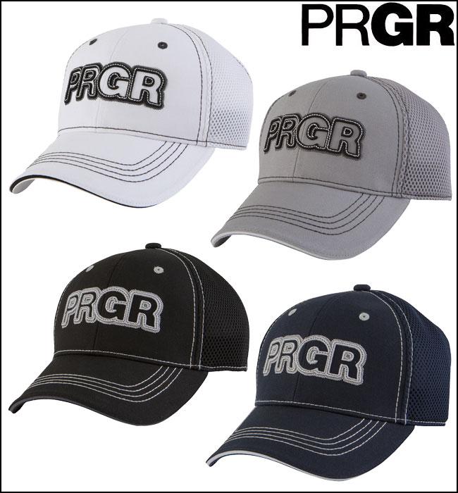 【あす楽】【2016年モデル】PRGR【プロギア】メンズゴルフ ステッチメッシュキャップ PCAP-163