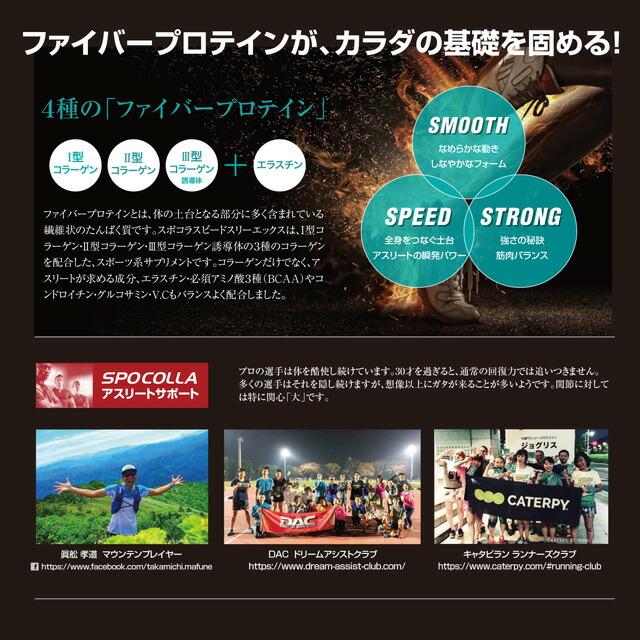 お得!SPOCOLLA【スポコラ】SPEED 3X【スピード スリーエックス】ファイバープロテイン ソフトゼリータイプ(31包入り)×10箱セット