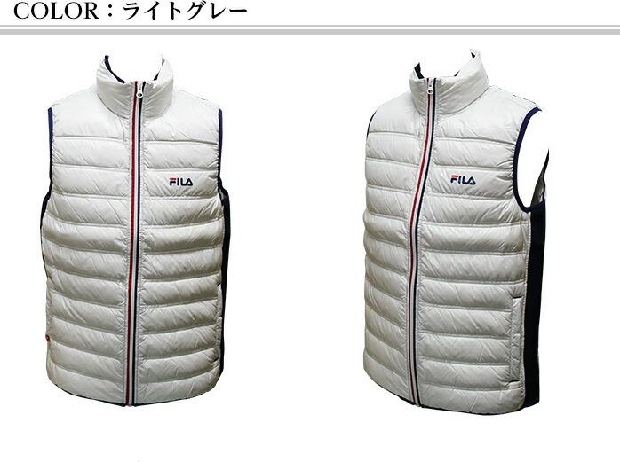 トリコロール ダウンジャケット  FILA golf wear 786-211