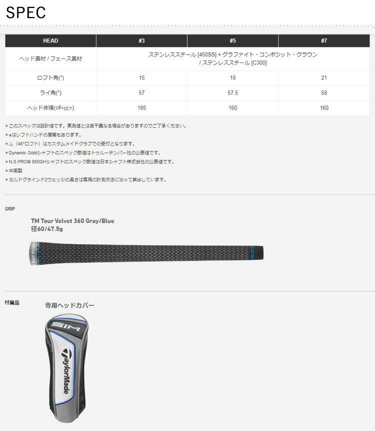 (納期約2~3週間)( 特注 ) レフティ テーラーメイド taylormade SIM MAX FW シム マックス フェアウェイウッド レジオ フォーミュラ B+ シャフト メンズ 2020