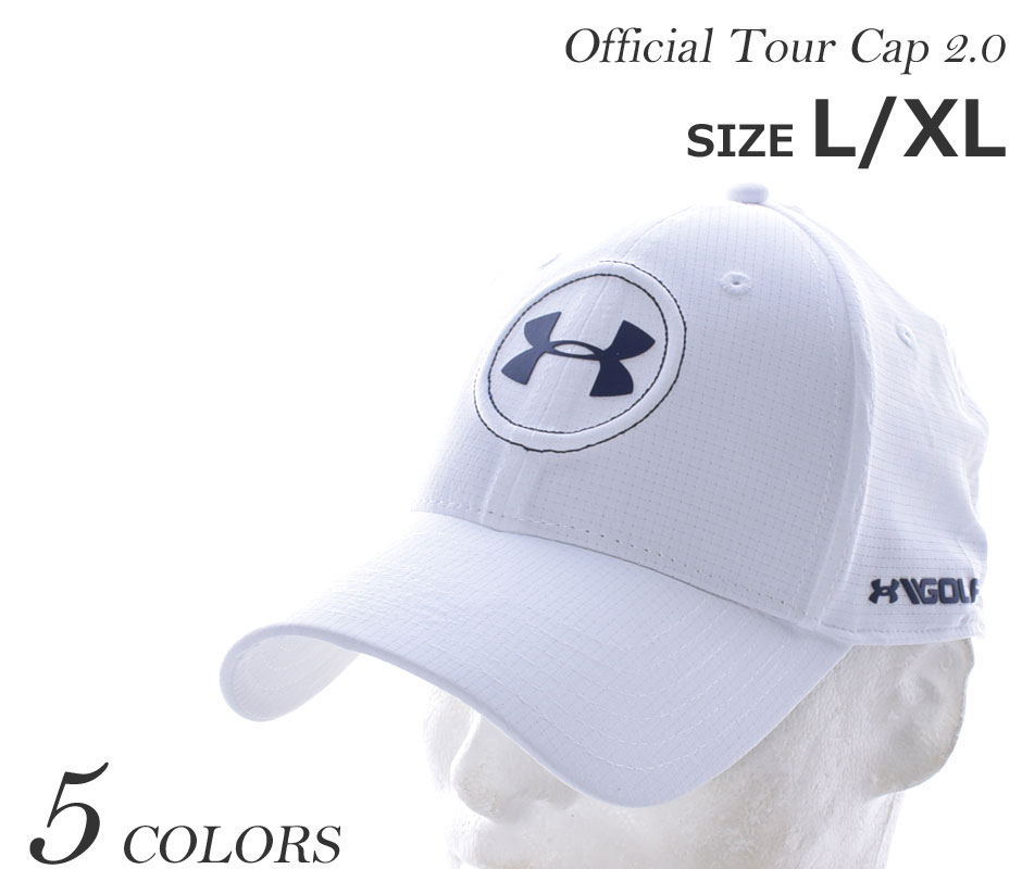 10be07e78 (stock disposal) a sale commemorative in the under Armour UNDER ARMOUR cap  golf wear men official tour cap 2.0 USA direct import correspondence law ...