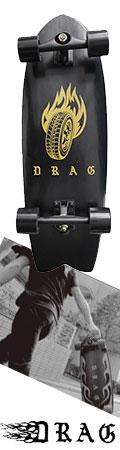 サーフスケート スケートボード DRAG×INTRO SKATE BOARD (limited edition) スケート コンプリート 完成品