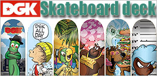 ケート デッキ DGK ディージーケー SATURDAY MORNING スケートボード skateboard deck