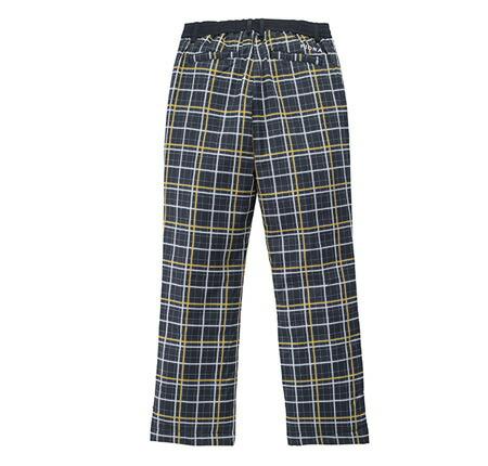 フィドラ 中綿入りチェック柄パンツ P120730