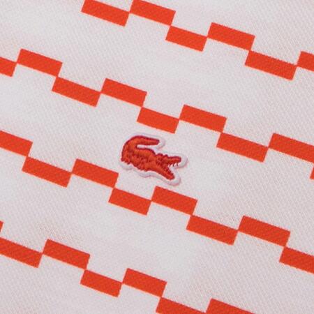 ラコステ メンズ 半袖ポロシャツ イレギュラーボーダー柄 PH2060