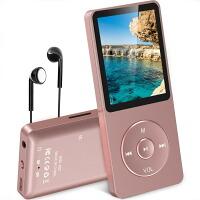 AGPTEK 音楽プレーヤー MP3プレーヤー 最大70再生時間 ロスレス音質 超軽量 内蔵容量8GB SDカードに対応 ポータブルプレーヤー ローズゴールド A02