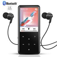 【送料無料】AGPTEK Bluetooth対応 mp3プレーヤー HIFI超高音質 デジタルオーディオプレーヤー 歩数計 FMラジオ 合金製 内蔵8GB マイクロSDカード対応 アームバンド付属 音楽プレーヤー ミュージックプレイヤー ランニング スポーツ ブラック A01T