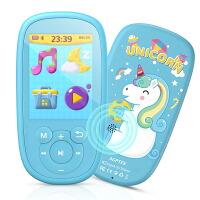 AGPTEK Bluetooth4.0 MP3プレーヤー 子守唄再生機能 デジタルオーディオプレーヤー 2.4インチTFTカラースクリーン 音楽/FMラジオ/ビデオ/録音 スピーカー搭載 50H連続再生可 ハーフイヤーイヤホン&ストラップ付属 内蔵8GB 子供用 k2