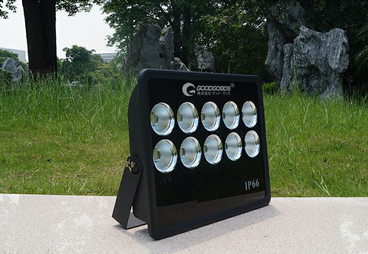 大型LED投光器 500w 53000lm スポットライト