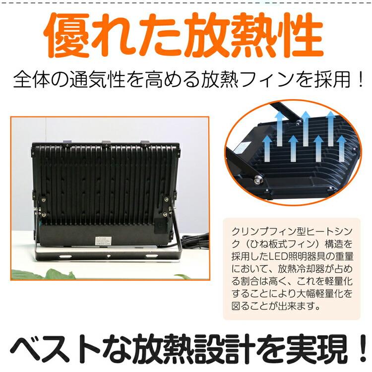 投光器 led 200W 2000W相当 28080lm 作業灯 ナイター照明