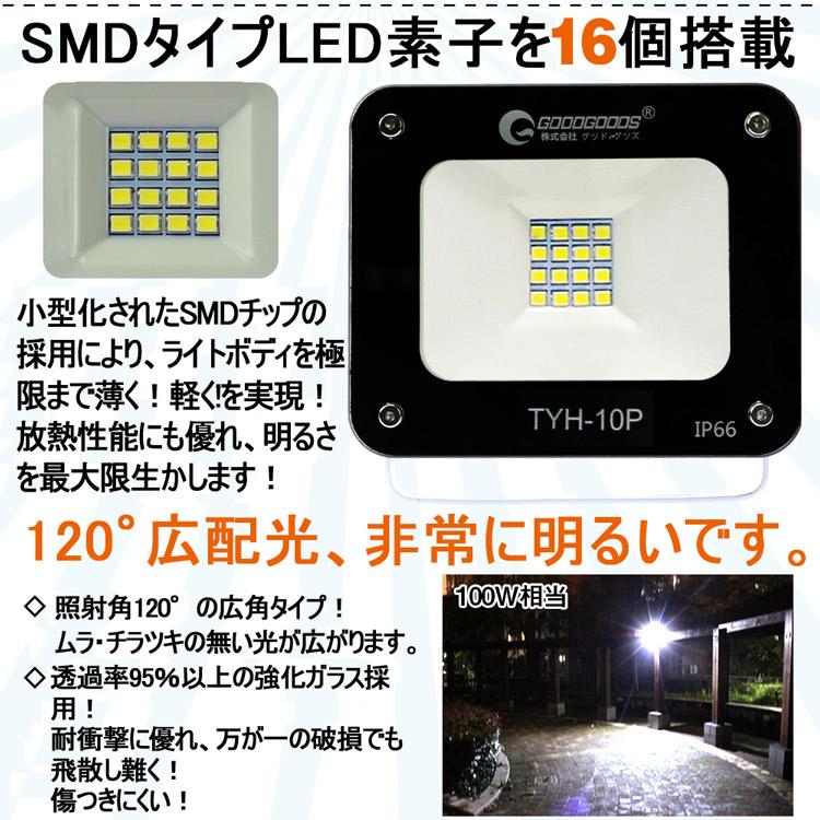 ソーラー投光器 屋外 ソーラーライト 電池の取り替える可能