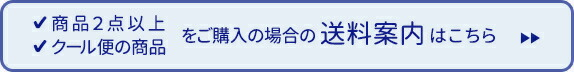 送料案内ページ