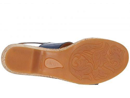 ボーンBornレディース女性用シューズ靴ヒールAtzel-Navy