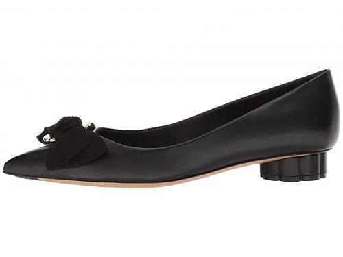 サルヴァトーレ・フェラガモSalvatoreFerragamoレディース女性用シューズ靴フラットTalla20-NeroNewNappaVI