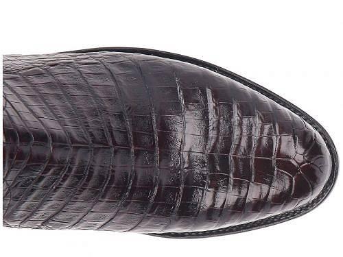ルケーシーLuccheseメンズ男性用シューズ靴ブーツカウボーイブーツカントリーブーツDustin-Black