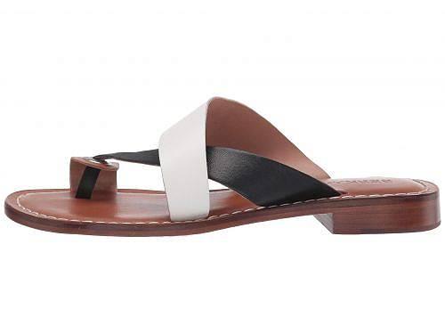 バーナードBernardoレディース女性用シューズ靴サンダルTiaSandal-White/Black/Luggage