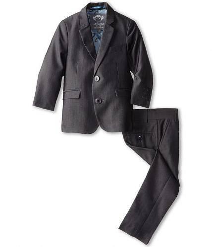 アパマンキッズAppamanKids男の子用ファッション子供服スーツTwoPieceLinedClassicModSuit(Toddler/LittleKids/BigKids)-VintageBlack1