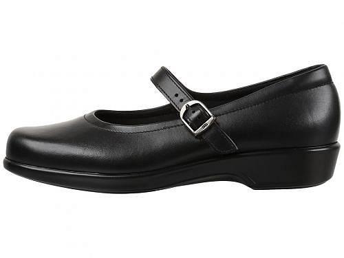 サスSASレディース女性用シューズ靴フラットMaria-Black