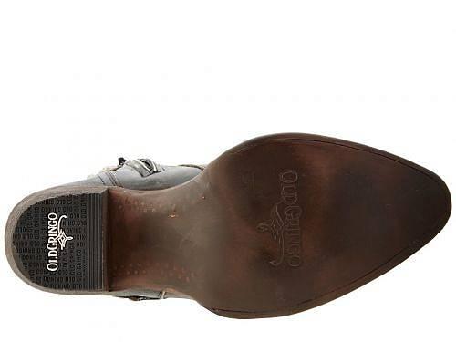 オールドグリンゴOldGringoレディース女性用シューズ靴ブーツウエスタンブーツBelinda-Black/Beige