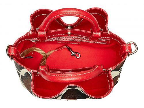 Dooney&Bourkeドゥーニー&バークレディース女性用バッグ鞄ハンドバッグサッチェルDooney&Bourkeドゥーニー&バークSerengetiMiniBarlow-Giraffe/RedTrim